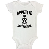 APPETITE for DESTRUCTION - Funny Kids Onesuits and Shirts