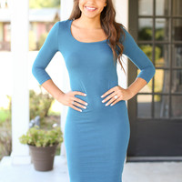Classic Example Dress - Teal