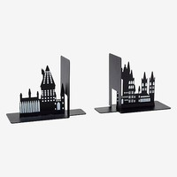 Harry Potter Hogwarts Metal Bookends