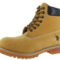 """U.S. Polo Assn. Tower 6"""" Men's Boots Faux Leather"""