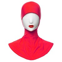 Bone Bonnet Muslim Hijab Islamic Under Scarf Cap Neck Cover Inner Head Wear Hot