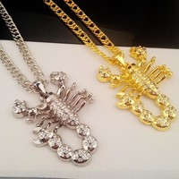 Shiny Jewelry Gift New Arrival Stylish Strong Character Hip-hop Necklace [6542725315]
