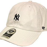 The 47 Brand Clean Up New York Yankees White Strapback
