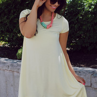 One Sunny Day Dress - Yellow
