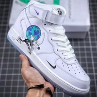 "Trendsetter Nike Air Force 1 ""Earth Day Pack"" Women Men Fashion Casual Sneakers Sport Shoes"