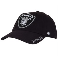 Oakland Raiders - Logo Sparkle Juniors Adjustable Cap