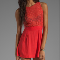This Is A Love Song Red Cher Dress