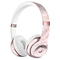 Pink Slate Marble Surface V7 Full-Body Skin Kit for the Beats by Dre Solo 3 Wireless Headphones