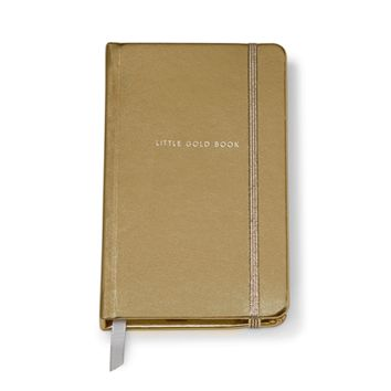 kate spade new york: medium notebook - little gold book