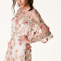 Give You Butterflies Embroidered Romper
