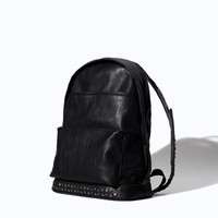 RUCKSACK WITH STUDS