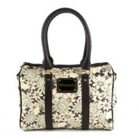 Loungefly Floral Skull Barrel Bag Accessories Bags at Broken Cherry