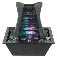 ORE International K321 Indoor Square Table Fountain, 8-1/4-Inch