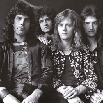 Queen Band Portrait Poster 24x36