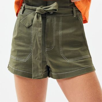 Kendall and Kylie Utility Shorts   PacSun