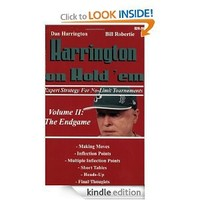Harrington on Hold 'em Expert Strategy for No Limit Tournaments, Vol. II: The Endgame: 2