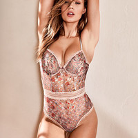 Medallion Lace Bodysuit - Victoria's Secret