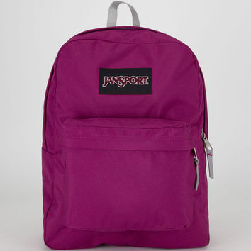 Jansport Black Label Superbreak Backpack Berrylicious Purple One Size For Men 20549275001