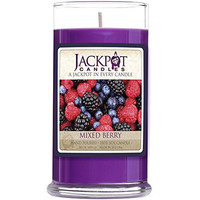 Mixed Berry Candle with Ring Inside (Surprise Jewelry Valued at $15 to $5,000) Ring Size 7