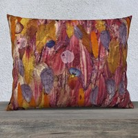 26x20 Multicolor Pillow Cover * Abstract Pillowcase * Art Pillow Covers * Decorative Pillowcase * Wedding Gift