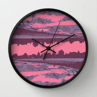 Over Wall Clock by Jane Lacey Smith