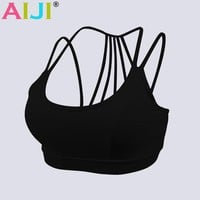 Sexy Women Sport Bra running Athletic Yoga Bra Breathable Underwear bra Push Up sujetador deportivo crop top fitness bra