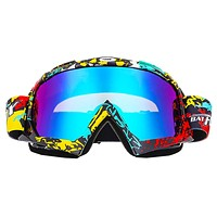 Outdoor Ski Goggles Double UV400 Anti-fog Big Ski Mask Glasses Skiing Men Women Snowboard Goggles