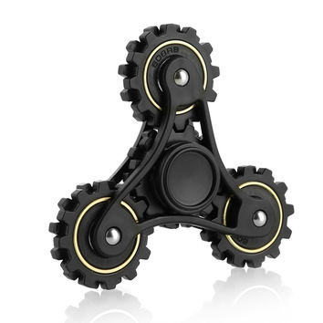 Fidget Spinner Wheel Gears Tri Hand Spinner EDC ADHD Focus Anxiety Relief and Anti Stress Toys