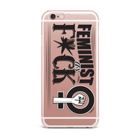 Feminist As F*ck Clear Phone Cases