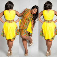 Double-layer Fashion African Dress