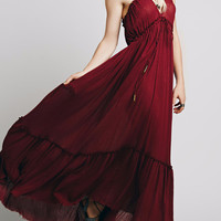 Cupshe Somewhere Out There Halter Long Dress