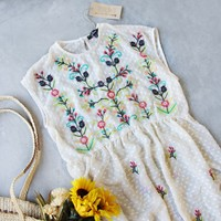 Chateau Embroidered Dress