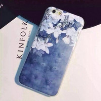 Edelweiss phone case for iphone 5 5s SE 6 6s 6 plus 6s plus + Nice gift box 072702