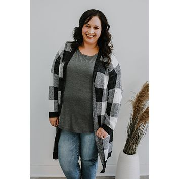 Check Her Out Cardigan +