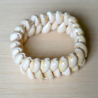Beach Bracelet Made of Sea Shells