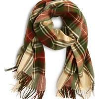 David & Young Plaid Blanket Scarf | Nordstrom