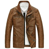 Leather Jacket and Coats For Men Natural Leather Jacket Coats For Men Leather Bomber Jackets
