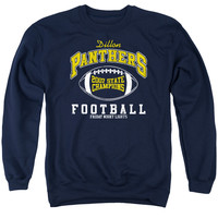 FRIDAY NIGHT LIGHTS/STATE CHAMPS - ADULT CREW SWEAT - NAVY - 3X - NAVY -