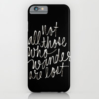 J. R. R. Tolkien quote iPhone & iPod Case by Molly Ennis