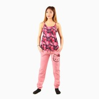 Hello Kitty Cami & Pants Set: Hibiscus