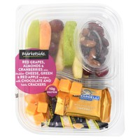 Marketside Apple Grape Cheese Bistro Box - Walmart.com