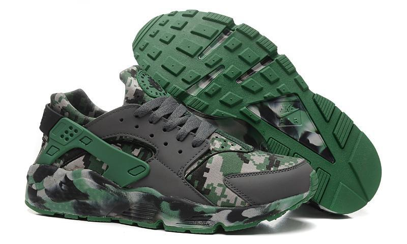 """Image of """"Nike Air Huarache"""" Men Sport Casual Camouflage Air Cushion Sneakers Running Shoes"""