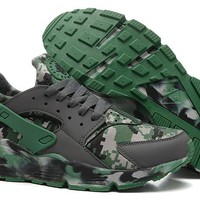 """Nike Air Huarache"" Men Sport Casual Camouflage Air Cushion Sneakers Running Shoes"