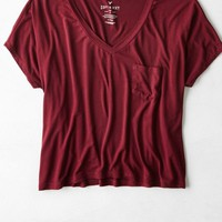 AEO Women's Soft & Sexy Pocket T-shirt