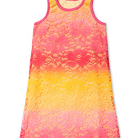 Dip Dye Lace Tank Dress