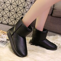 Hot Deal On Sale Flat Waterproof Thicken Casual Boots [9432933258]