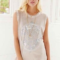 Project Social T Oil Washed Muscle Tee-