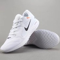 Off White X Nike Epic React Flyknit Women Men Fashion Casual Sandals Slipper Shoes-1