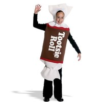 Kids Tootsie Roll Costume - Food and Candy Costume Fun!