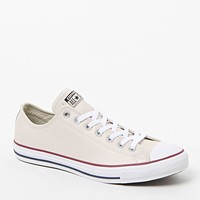Converse CTAS Low Leather Sneakers - Mens Shoes - Parchment